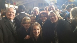 Group of early childhood supporters excited to hear the President speak!