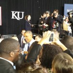 President Barack Obama speaking on his key points for high quality child care.