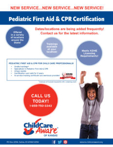 CPR FA Training Flyer