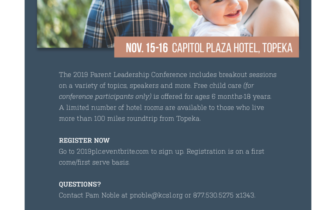 Join us for the Parent Leadership Conference!